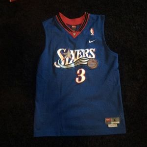 Allen Iverson jersey stitched size large
